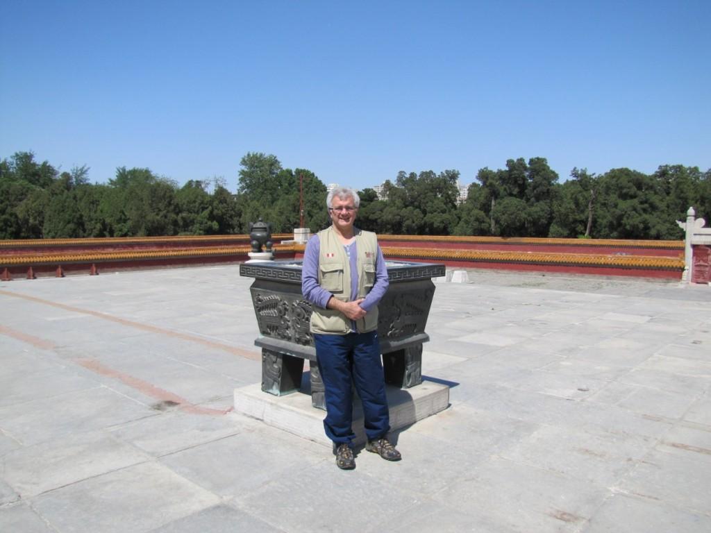Solo en el Templo de la Tierra, Beijing 21 de mayo de 2011, foto de Enzo Cozzi