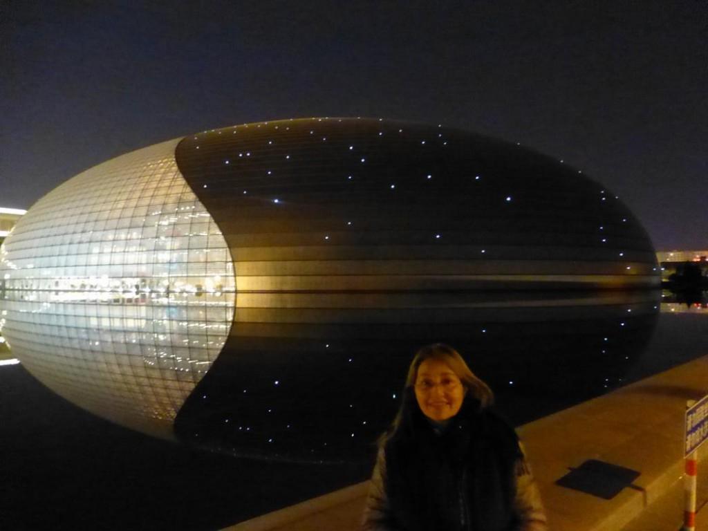Sylvia Galleguillos en el Teatro Nacional de Beijing