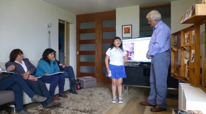 Los niños como maestros. Mi nieta Monserrat y el Manto del Experto