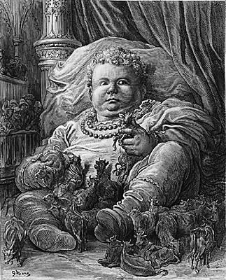 Pantagruel ilustrado por Gustave Doré
